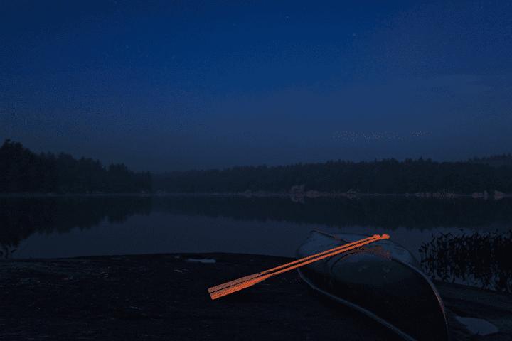 2 Oars 1 Canoe